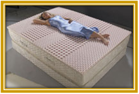 Premium Latex Spring Mattress in India
