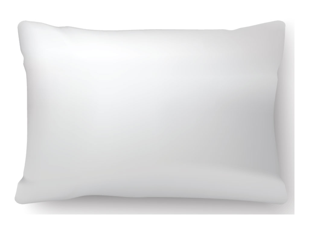 ARCHED MEMORY FOAM PILLOW
